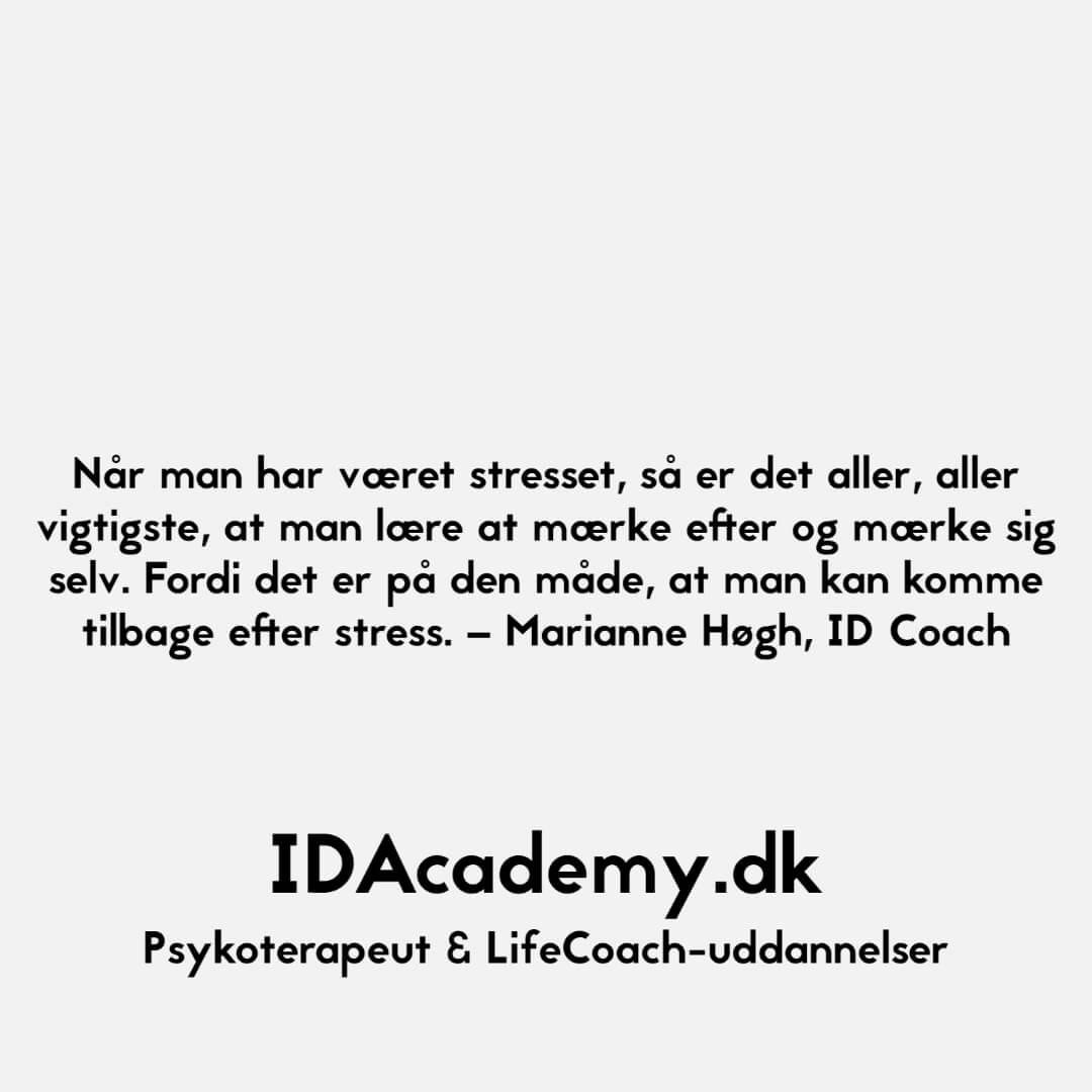 Citat fra Marianne Høgh, ID Coach