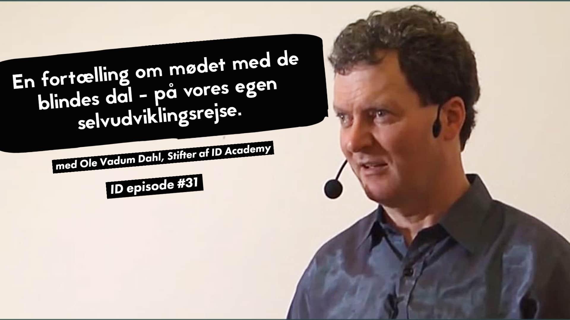 Stifter af ID Academt - Ole Vadum Dahl - Psykoterapeut og Coaching uddannelser
